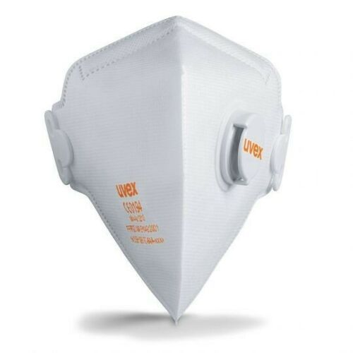 "15 pcs Respirator ""Uvex 3210 Silv-Air"" FFP2 with Valve"