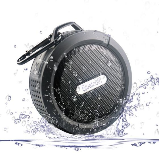 Waterproof Bluetooth 3.0 Speaker,Bluetooth Shower Speaker With Suction Cup Built-in Microphone