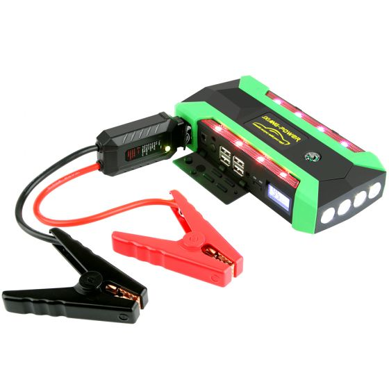 18000 mAh Jump Starter,12 V Car Starter,Car Battery Charger,Emergency Starter LED Light Mounted Disaster Prevention Equipment
