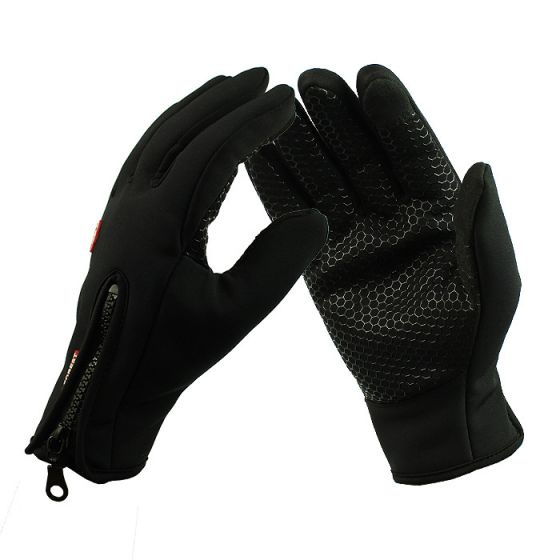 New Version Touchscreen Winter Ski Mittens,Windproof and Warming Gloves for Skiing,Snowboarding,Snowmobiling