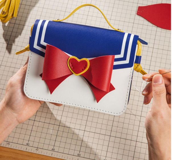 DIY lady carry bag materials and video guide included around 4 hours DIY time needed support printing custom logo or words