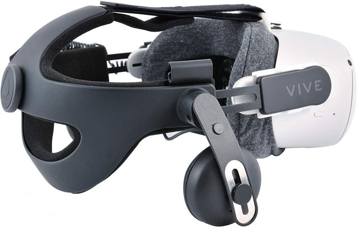 Adapter for Installing The HTC Vive Deluxe Audio Strap on Oculus Quest 2 Gen/Adapters for Oculus Quest 2 Gen Replacement Strap-White Color (Designed for Quest 2 Gen)