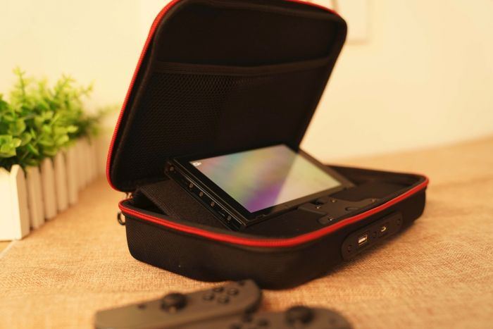 Battery carrying case For Nintendo Switch- accessories and charging dock at the Same Time - Must Have games bundle and controller 12000 mAh