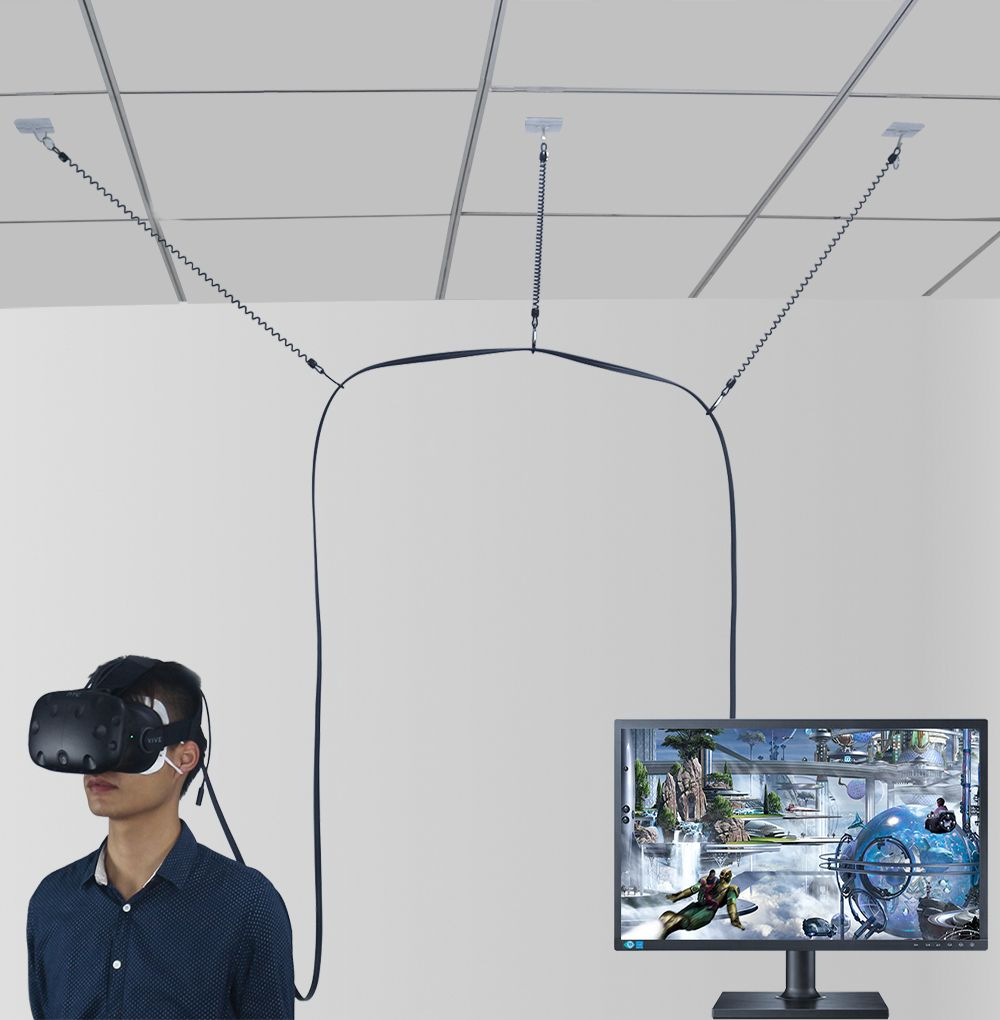 Vr Cable Management System For Htc Vive Virtual Reality