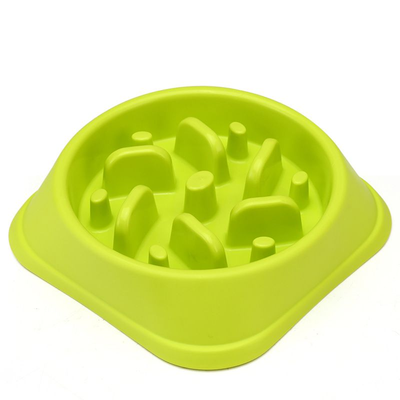 covered pet bowls slow feeder bowl for dogs catspets anti choking pet bowl