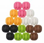 18 Pcs Cable Clips Colorful Cable Management Cord Organizer Desktop Organizer Cable Organizer