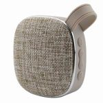 Outdoor Portable Bluetooth Speakers,Linen Feature Design,Built-In Mic Hands-Free Speakerphone