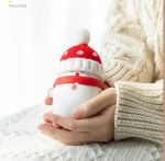 snow man hand warmer usb power bank battery