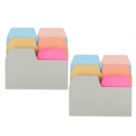 180 Sheets Index Tabs Paper, Assorted Sizes & Colors Index Divider Sticky Notes