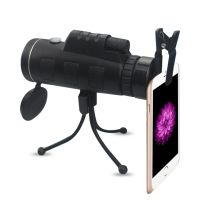 Multi-Function Monocular Kit Dual Focus Monocular Telescope with Compass, Phone Bracket and Tripod