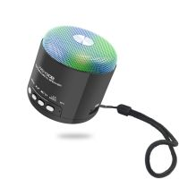 MINI Portable Bluetooth Speaker with USB Port,Led Light,TF card slot,Hands-free Speakerphone, Radio
