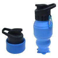 Collapsible Water Bottle,Lightweight Silicone Sports Water Cup for Camping,Hiking,Sport,Outdoor Activities