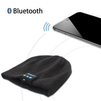 Bluetooth Beanie Headset Hat with Stereo Speakers & Bluetooth 3.0+EDR+ Stereo Headphone
