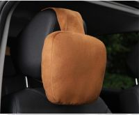 Car Neck Pillow - Plush Headrest Support Cushion for Pain Relief