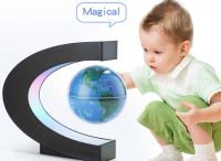 Magical magnetic rotating globe
