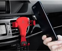Easy to Use Car Phone Holder,Gravity Car Vent Mount  for 4-6 Inches Phones