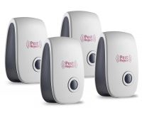 4 Pcs Ultrasonic Pest Repeller with Advanced Repelling Technology, Repel Rats,  Roaches  And Other Insects