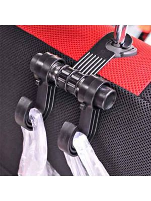 Car hooks shopping  bags double hook *2