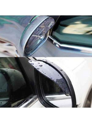 Car rearview mirror cover rain block *2  two colors are available