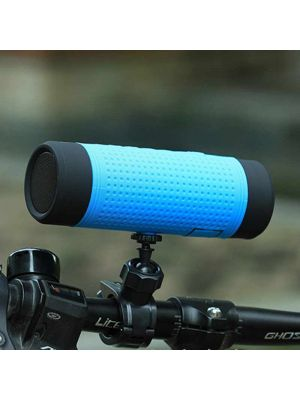 Waterproof Bluetooth Bicycle Speaker with Bicycle Mount,4000mAh Portable Charger Power Bank