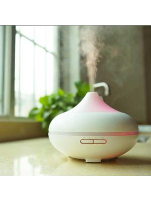 500ml Aroma Diffusers Cool Mist Humidmifier with Timer Adjustable Mist 7 Color Changing Night Lights for Office Home BedroomYoga Spa