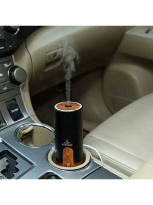 Essential Oil Diffuser, Didihou 50 ml Mini Usb Car Essential Oil Purifier Diffuser Ultrasonic Cool Mist Aroma Air Humidifier for Car