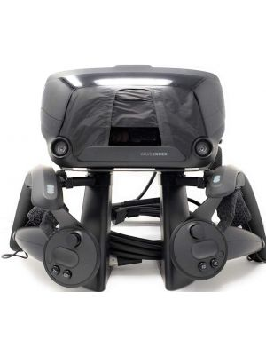 VR Stand Headset Display Mount Station and Controller Holder for Steam Valve Index Virtual Reality Gaming System