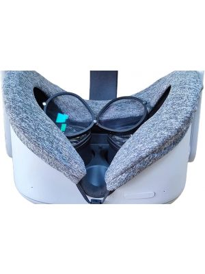 Prescription Lens Inserts for Oculus Quest 2 Headset- Clearer Experience,Magnetic Frame,Easy to Install and Remove, Perfect for Near-Sightedness VR Users