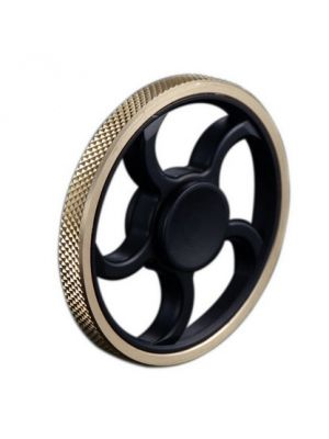 EDC Fidget Toy Wheel Spinner on Hand, Invisible Spinner for Rolling Play, Interesting Stress Relief Toy