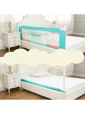Baby Bed Rail Children Extra Long Bed Guard Toddler Safety Fold Down Bedrail Potable Stop Falling