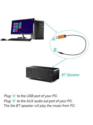 Bluetooth Transmitter for TV  USB Power Bluetooth Transmitter