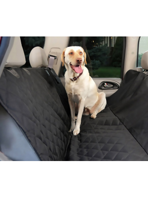 Premium Waterproof Scratch-proof Pet Seat Cover & Portable Dog Car Seat Cover-Black