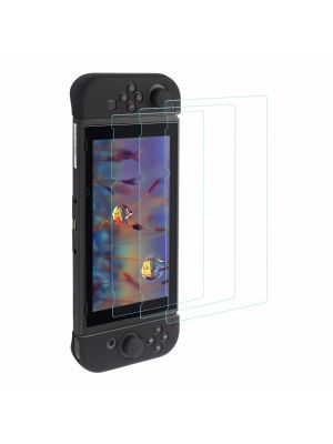 3 Pcs Tempered Glass Screen Protector for Nintendo Switch2017,Ultra-Clear HD
