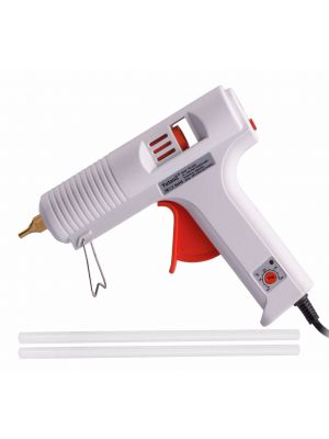 120W Professional Hot Melt Glue Gun with Adjustable Temperature Dial Come with 2-Piece Strong Adhesive Glue Sticks