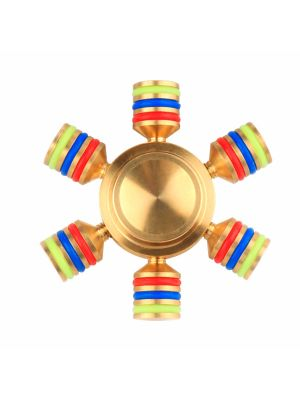 EDC Fidget Toy Fingertip Spinner, Assembleable Spinner, Anxiety Stress Relieve Toy, Great of Fun!
