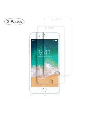 For iPhone 8 2 Pcs Anti-blue ray 2.5D 0.3mm Premium Tempered Glass Screen Protector  Toughened Protective Film