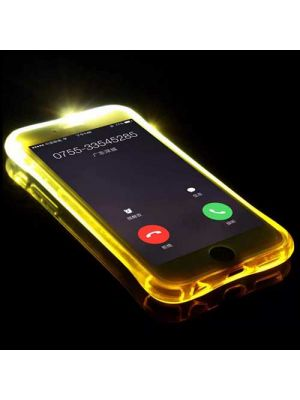 Phone Case for iphone 8 - LED Flash Case Newest LED Lights UP Flash Remind Incoming Call