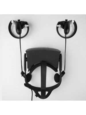 Mount and Organizer for Oculus Touch and Oculus Rift Helmet