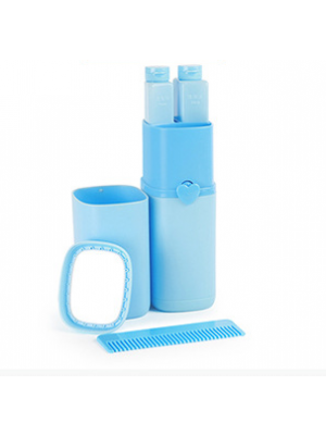 Travel Toothbrush Toothpaste Container Travel Toothbrush Holder Case Multifunction 5 in 1 Wash Gargle Supplies
