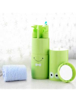 Travel Toothbrush Cup, Multifunction Wash Cup Portable Business Trips Handy Travel Toothpaste Holder Organizer
