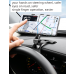 Universal Phone Car Mount - Safer- Solid and Easy Install- Driver View Friendly- Totally Rotable and Adjustable-Upgrade Your Mount Now